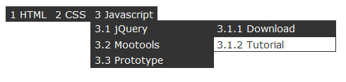 multilevel-dropdown-menu-jquery